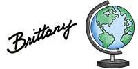 "The Colorado Classroom signature ""Brittany"" with a globe."