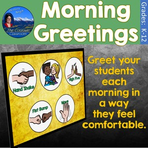 Morning Greetings Poster Cover Image